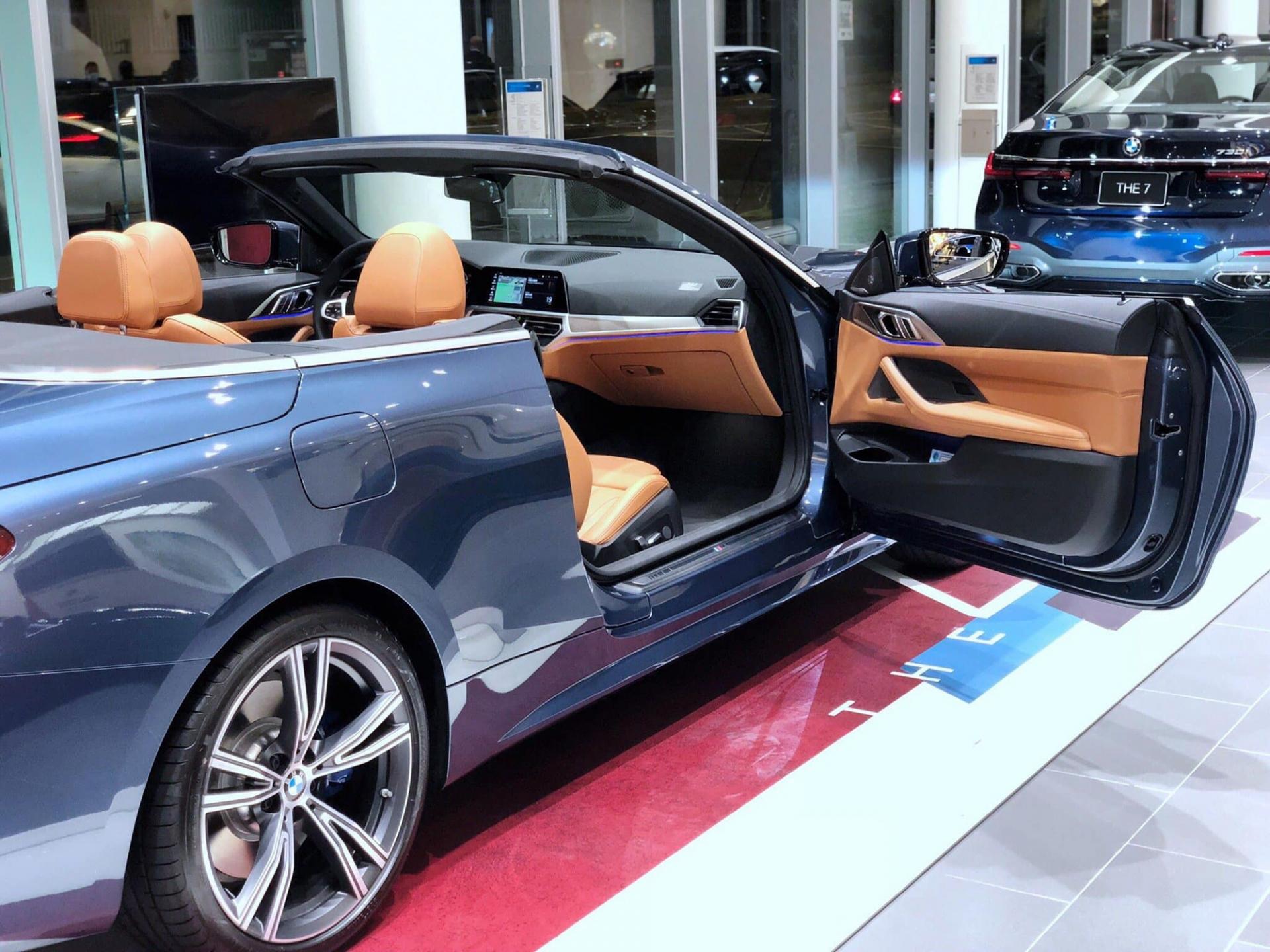 Mê mệt với vẻ đẹp khó cưỡng của chiếc BMW 430i Convertible 2021 đầu tiên về Việt Nam 3