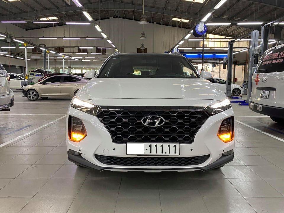 Rao bán Santa Fe 'chạy chán' hơn 5 vạn, chủ xe vẫn dư tiền mua lại bản mới nhất năm 2021 2