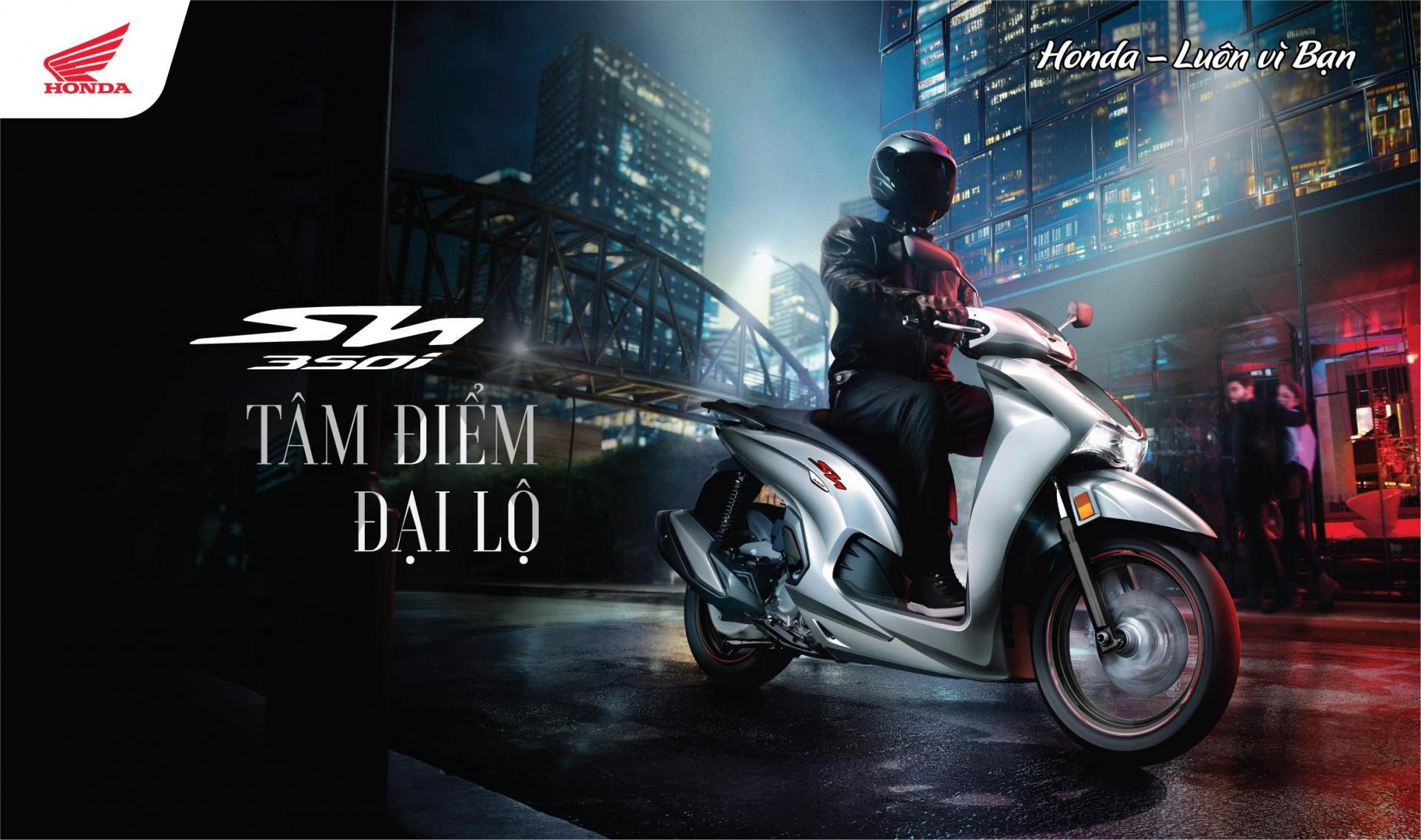 Thực hư câu chuyện Honda SH350i Việt Nam trang bị động cơ 'ngon' hơn bản nhập Ý 1