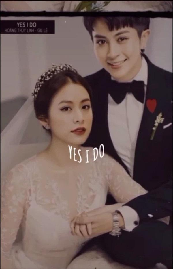 Rộ tin Hoàng Thùy Linh và Gil Lê bỗng làm đám cưới bí mật 1