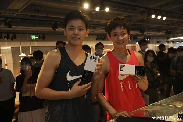 Nhan sắc 'soái ca' của nữ VĐV bóng rổ Trung Quốc Dương Thư Dữ gây 'sốt' 3