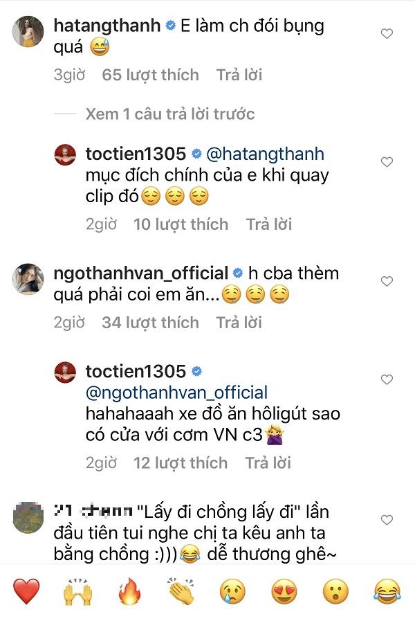 Tóc Tiên ăn gì mà khiến cả Tăng Thanh Hà, Ngô Thanh Vân ào vào xuýt xoa 3