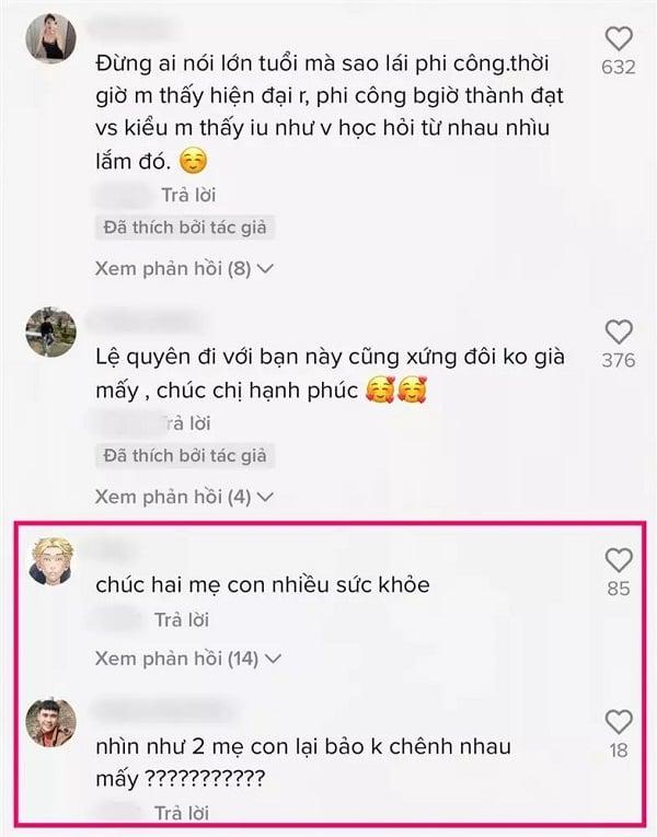 Lệ Quyên đanh thép khi bị fan hỏi ra sao nếu Lâm Bảo Châu phản bội 5