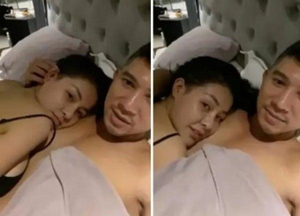 Lương Bằng Quang và Ngân 98 nuôi sở thích quái đản: Khoe ảnh giường chiếu, tắm chung 2