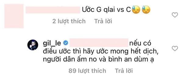 Gil Lê phản ứng cực phũ khi fan ước quay lại với Chi Pu: Tình hết bạn cũng chẳng còn 3