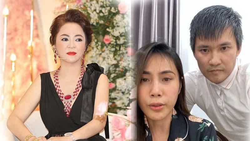 Ca sĩ Thủy Tiên bật khóc nức nở trong livestream khi bị bà Phương Hằng nhắc tên - Tin Mới Ngôi Sao