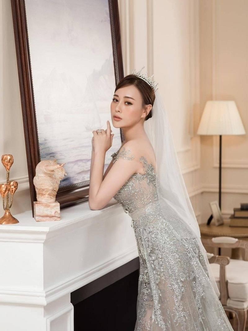 Mỹ nhân Việt hóa cô dâu màn ảnh nhỏ: Phương Oanh khí chất vợ 'tổng tài', Hồng Diễm sang chảnh nét tiểu thư 4