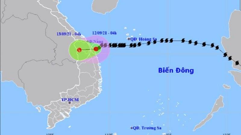 Bão số 5 suy yếu thành áp thấp nhiệt đới, gây mưa lớn cho Đà Nẵng đến Bình Định 1