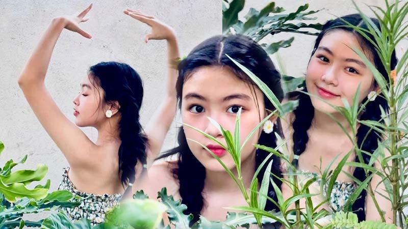 Nhan sắc tuổi 16 của con gái MC được bà Phương Hằng ngưỡng mộ 1