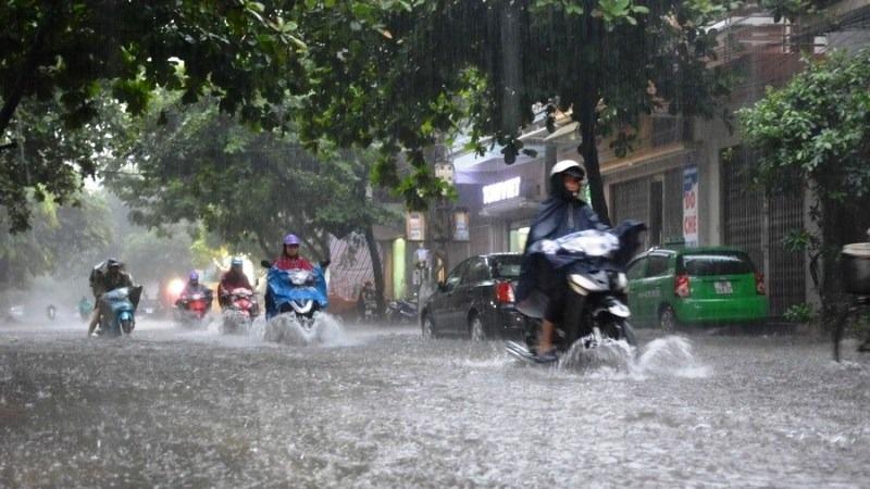 Bắc Bộ và Nam Đồng bằng Bắc Bộ mưa lớn, riêng Hòa Bình có mưa rất to 1