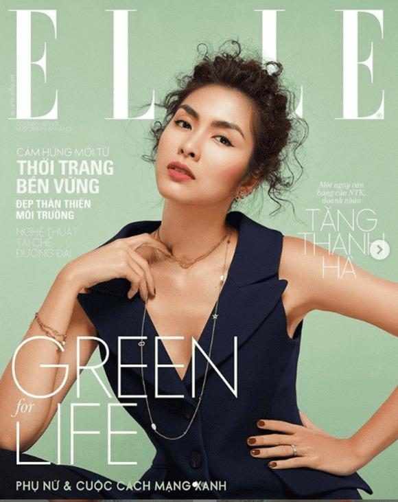 Tăng Thanh Hà lại khiến dân tình đắm đuối trước vẻ đẹp thanh thuần thời thiếu nữ trên bìa báo 6