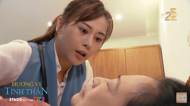 Hương vị tình thân 2 tập 4: Long ngỡ ngàng trước màn 'lột xác' của Diệp, cụ Dần gặp 'biến' khiến Nam lo lắng 8