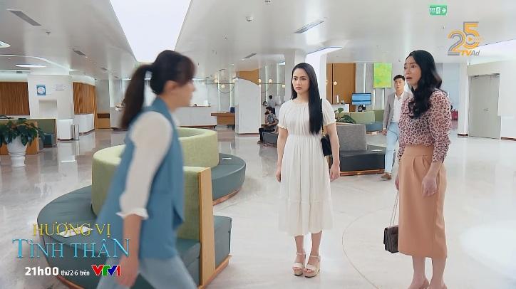 Hương vị tình thân phần 2 tập 5: Nga 'diễn sâu' trước mặt gia đình Long, bà Xuân đứng hình khi gặp lại Nam 6