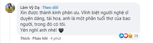 Nghệ sĩ Trà My đau xót báo tin buồn; Tự Long, Thảo Vân và loạt sao Việt nghẹn ngào nói lời tiễn biệt NS Giang Còi 6