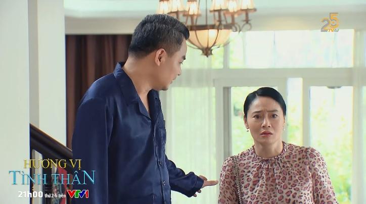 Hương vị tình thân phần 2 tập 11: Bà Xuân bị yêu cầu lánh ra ngoài khi Nam đến chơi nhà 5