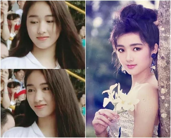 Hoa hậu Giáng My có lép vế trong lần duy nhất đọ sắc với 'đệ nhất mỹ nhân TVB' Lê Tư? 5