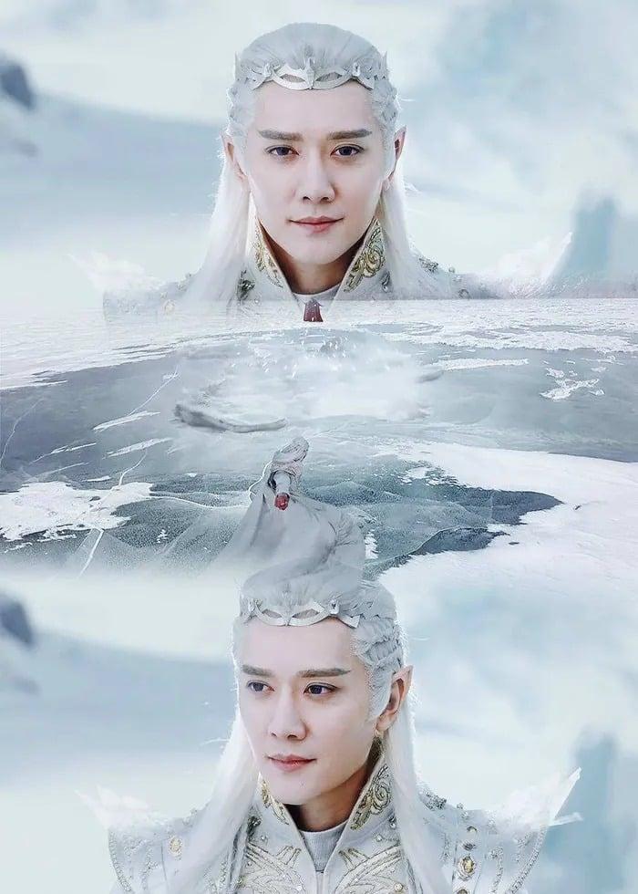 10 mỹ nam cổ trang tóc trắng đẹp ma mị trên màn ảnh Hoa Ngữ 3