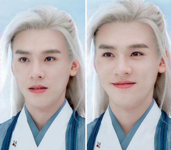 10 mỹ nam cổ trang tóc trắng đẹp ma mị trên màn ảnh Hoa Ngữ 13