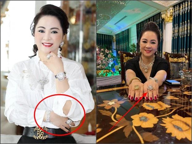 BST kim cương 'lóa mắt' của bà Phương Hằng, giá trị nhất là viên kim cương 'big size' khiến bao người ao ước 3