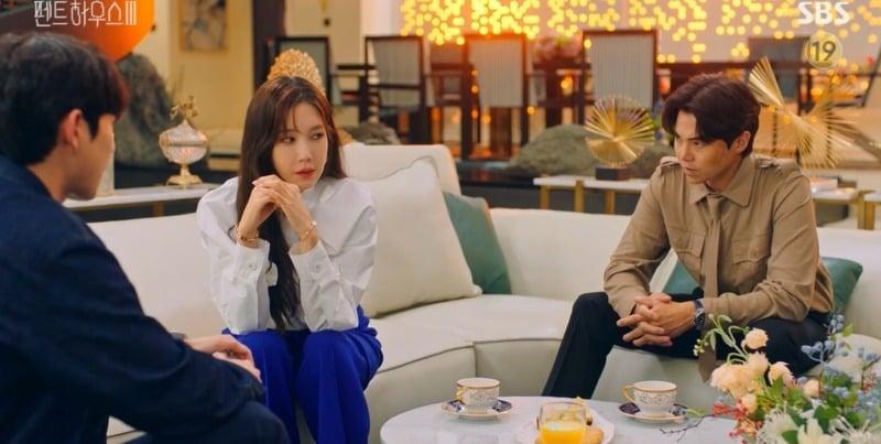 Cuộc chiến thượng lưu 3 tập 12: Shim Su Ryeon ra tay kết liễu Ju Dan Tae nhưng tính mạng không được bảo toàn 6