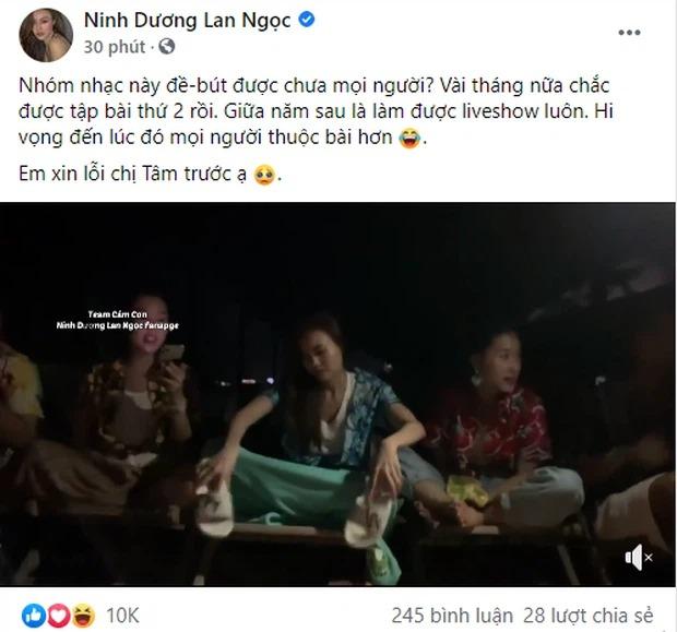 Ninh Dương Lan Ngọc 'muối mặt' xin lỗi Mỹ Tâm vì hành động bôi nhọ 'con cưng' của đàn chị 2