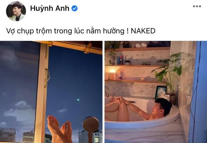 Huỳnh Anh tự tay khui khoảnh khắc riêng tư bên bạn gái 'hot mom' Bạch Lan Phương 1