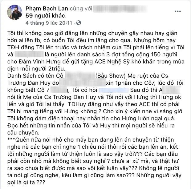 Trương Đan Huy bị tố 'nuôi ong tay áo' với Đàm Vĩnh Hưng sau khi bóc trần thói 'lừa người' trong giới nghệ sĩ 3