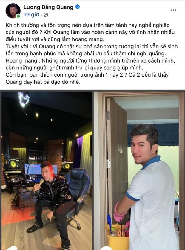 Lương Bằng Quang vừa buồn bã vì bị kỳ thị, Ngân 98 đã tiết lộ sự thật về người tình 1