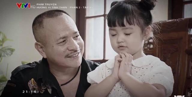 Ngỡ ngàng nhan sắc 'như 2 giọt nước' của Thu Quỳnh lúc nhỏ với cô bé đóng vai Thy trong 'Hương vị tình thân' 1