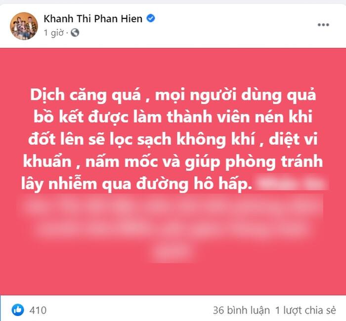 Khánh Thi - Phan Hiển bày mẹo chống Covid, tưởng hay nào ngờ 'mục đích khác' 1