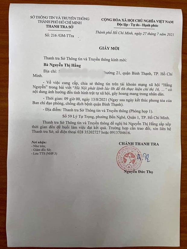 Bà Nguyễn Hằng nhận cái kết đắng vì 'vạ miệng': 'Sài Gòn ăn cứu trợ của cả nước'  3