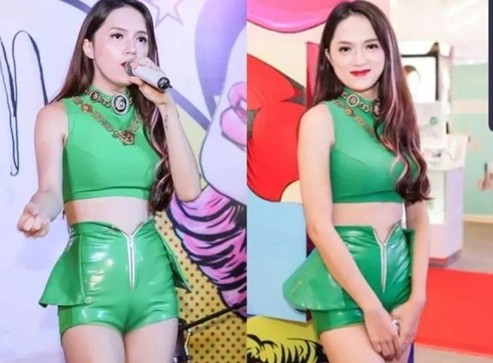Phong cách mặc 'bóng nhẫy' của sao Việt: Lệ Quyên, Mỹ Tâm 'như bôi mỡ' 3