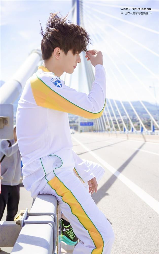 Bộ ảnh Dương Dương rước đuốc Olympic khiến CĐM 'xỉu up xỉu down' vì nụ cười thanh thuần 1