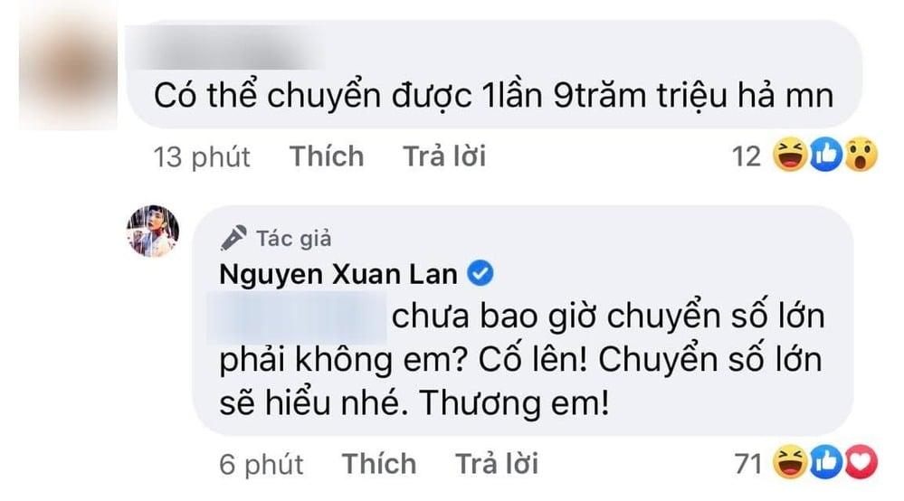 Xuân Lan 'cao tay trị anti' nghi ngờ Hương Giang 'fake' tiền từ thiện 3