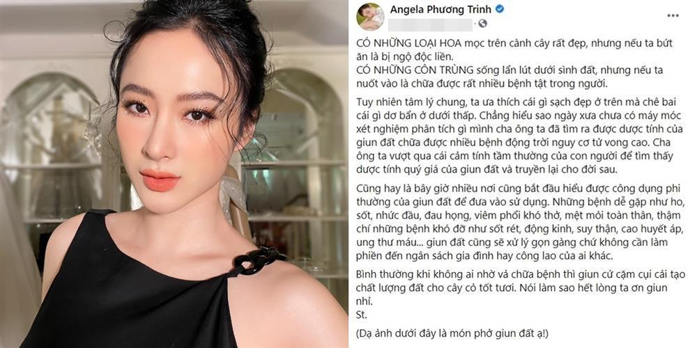 Angela Phương Trinh khoe ăn 'phở giun đất' chống Covid-19 hậu bị VTV 'cảnh báo' 1