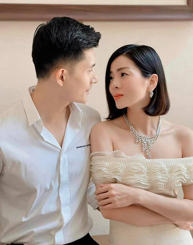 Lệ Quyên 'câm nín' khi Vy Oanh, Quang Cường ẩn ý chuyện có con cùng tình trẻ 3