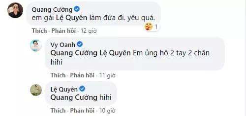 Lệ Quyên 'câm nín' khi Vy Oanh, Quang Cường ẩn ý chuyện có con cùng tình trẻ 2