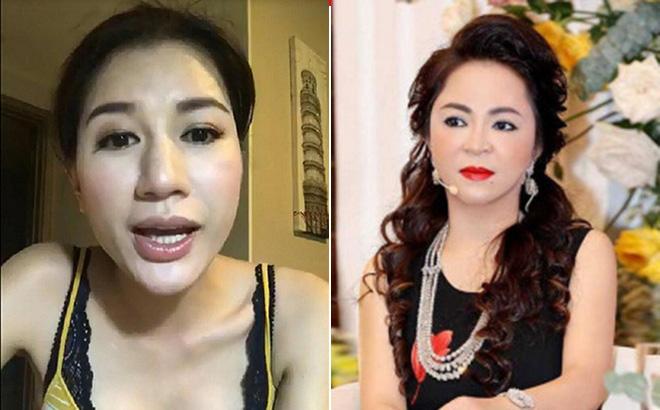 Trang Trần bất ngờ có động thái bắt chước CEO Đại Nam trên sóng livestream 2