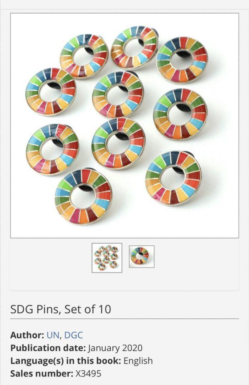Ý nghĩa không tưởng của 'pin cài áo 17 màu' BTS dùng tại Đại Hội đồng Liên Hợp Quốc  8