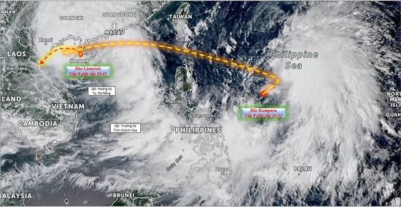 'Bão chồng bão' trong 10 ngày tới, người dân nên hạn chế hồi hương 1