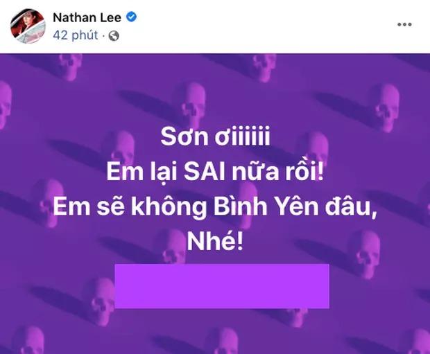 Nathan Lee tung ảnh 'hở trên hở dưới' của Cao Thái Sơn, đòi đưa ra tòa vì dám hát ca khúc đã mua bản quyền 1