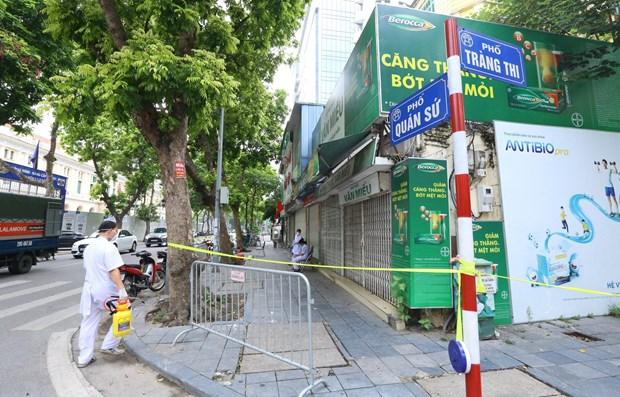 Hà Nội giãn cách xã hội toàn thành phố theo Chỉ thị 16 từ 6h sáng ngày 24/7 1