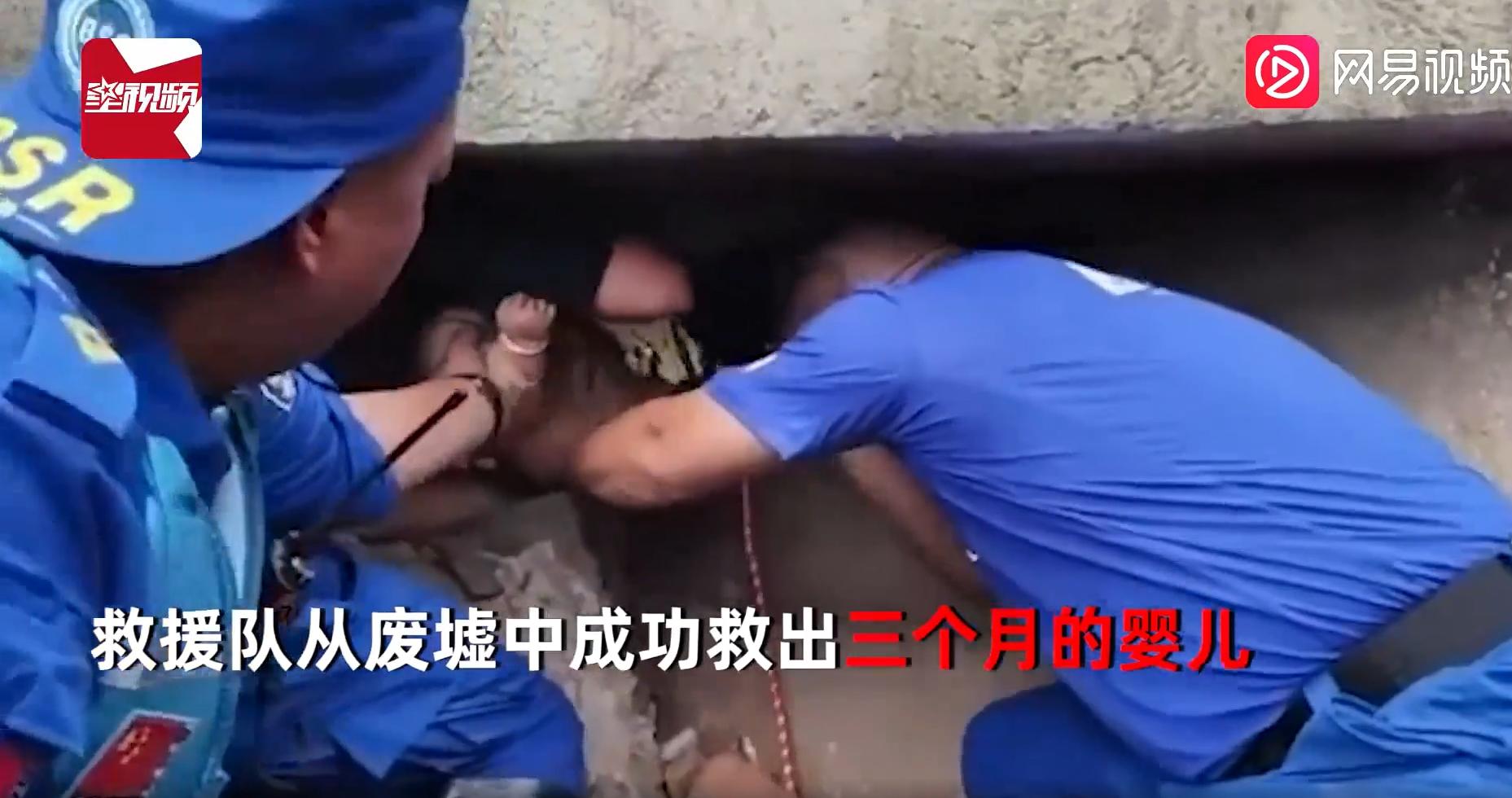 Mưa lũ lịch sử tại Trung Quốc: Em bé 4 tháng tuổi sống sót thần kỳ sau khi bị chôn vùi trong đống đổ nát gần 2 ngày 3