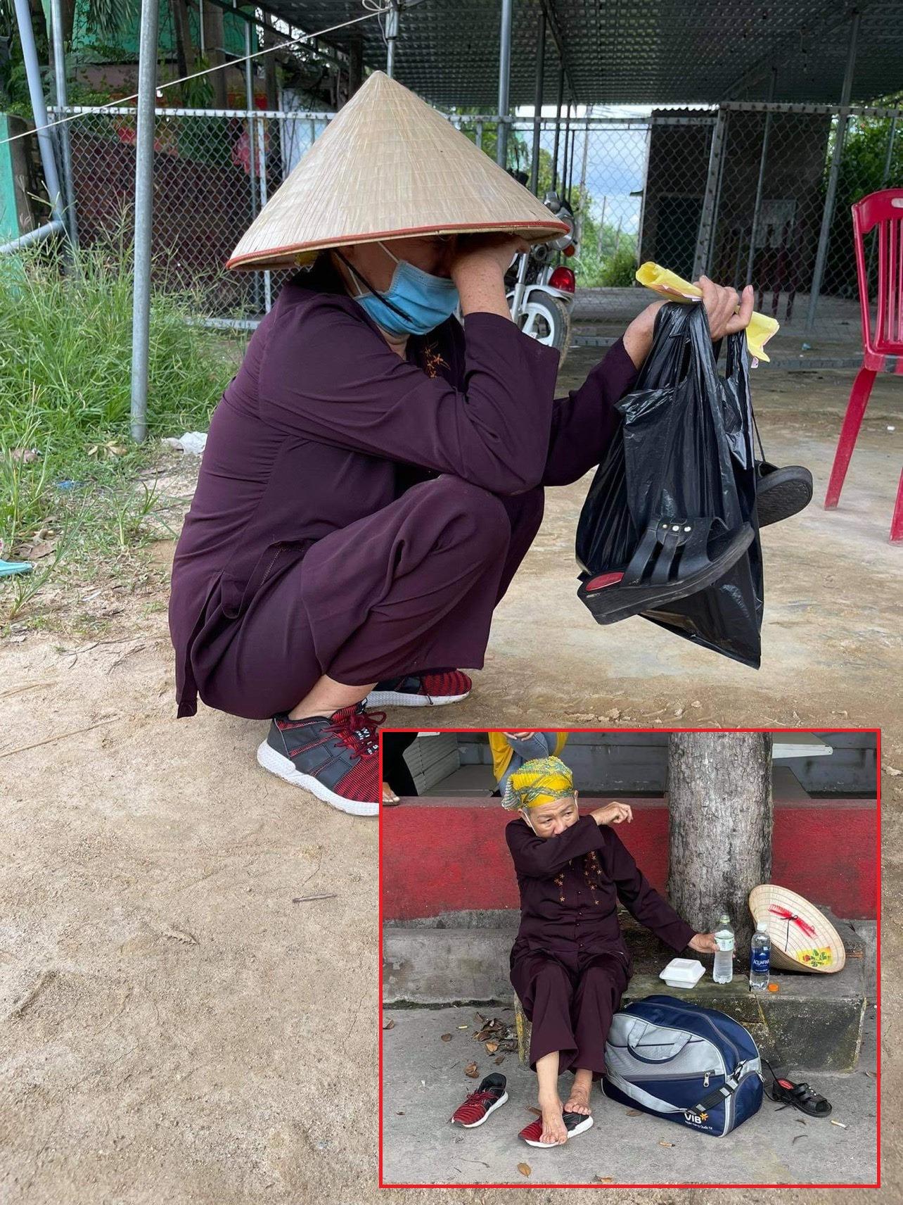 Cụ bà đi bộ hơn 1300 cây số từ TP.HCM về Nghệ An, mạnh thường quân cho tiền cũng không nhận vì chỉ muốn về nhà 4