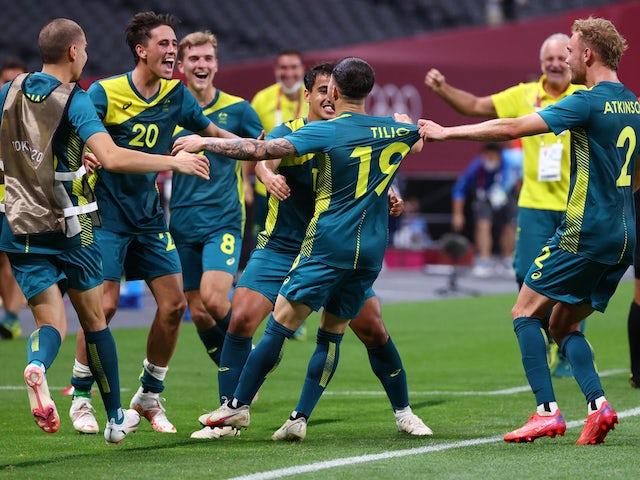 Trực tiếp U23 Australia vs U23 Ai Cập, bảng C Olympic 2020: 18h00 ngày 28/07 1