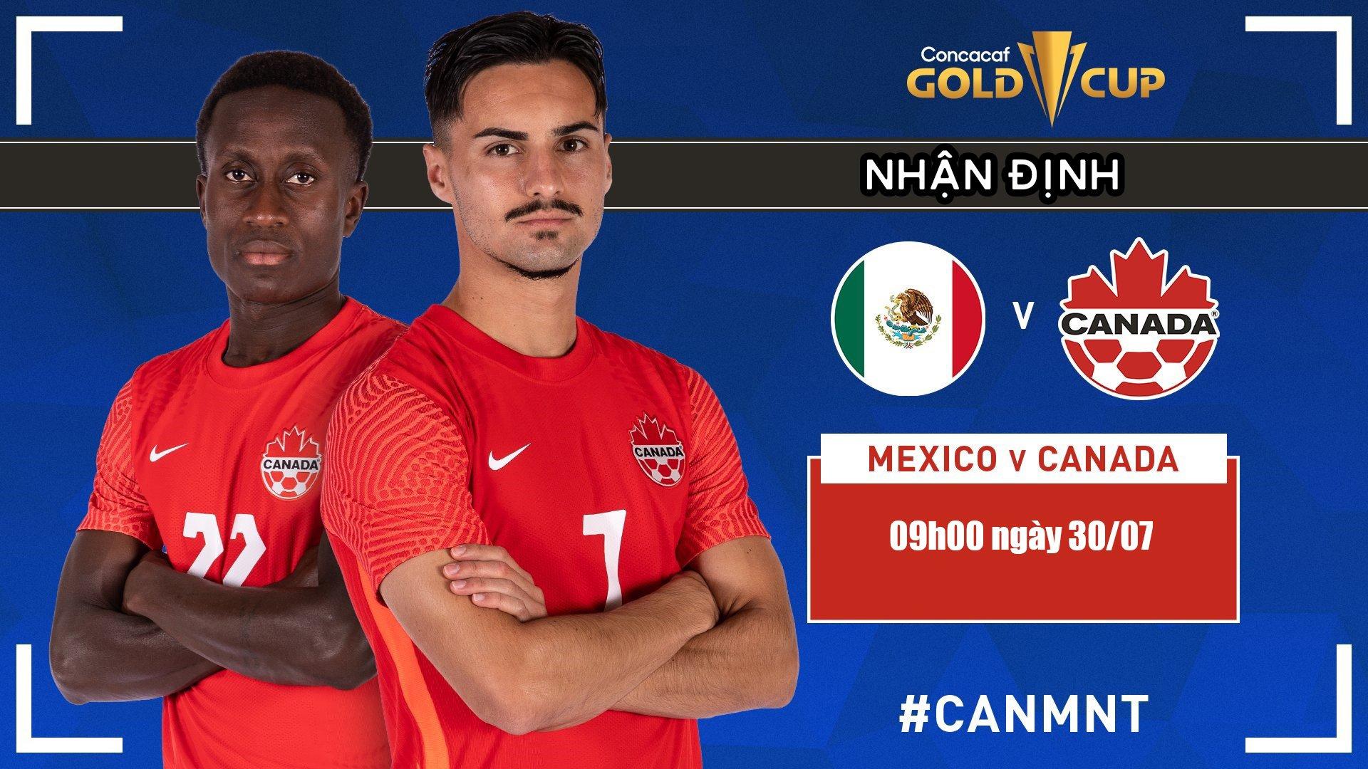 Trực tiếp Mexico vs Canada, 09h00 ngày 30/07: Tái hiện trận chung kết trong mơ?  1