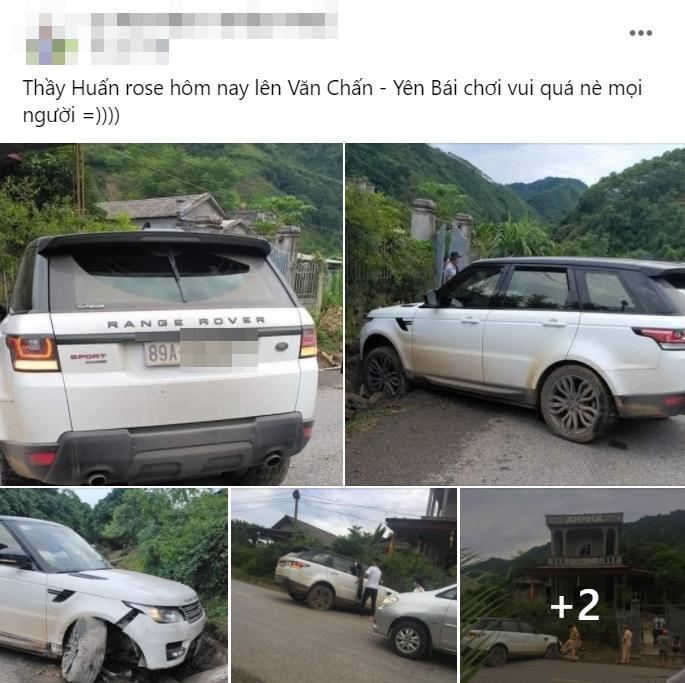 'Giang hồ mạng' Huấn Hoa Hồng lái Range Rover gặp sự cố, nguồn gốc của chiếc xe khiến dân mạng tranh cãi 1