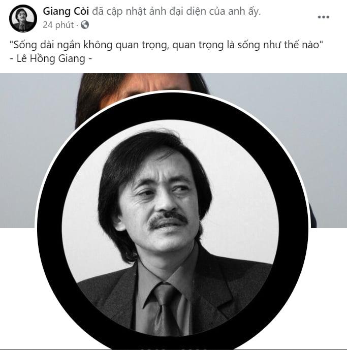 Nghệ sĩ Giang Còi qua đời sau thời gian dài chiến đấu với ung thư 1