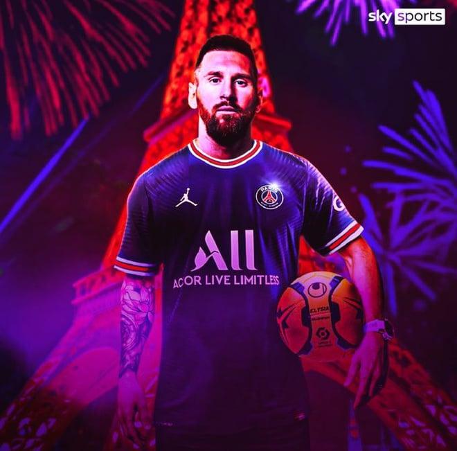 Lionel Messi chính thức gia nhập PSG, 'gã nhà giàu' nước Pháp sở hữu bộ 3 nguyên tử rung chuyển cả châu Âu 1