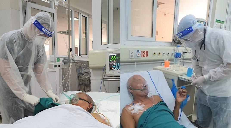 Vợ chồng U70 cùng chiến đấu với Covid: Cụ bà muốn nhường sự sống cho chồng và lá thư tay nguệch ngoạc đẫm nước mắt 2